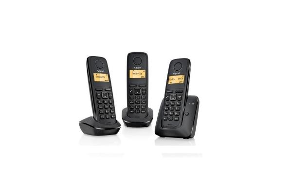 TELEFONO FIJO GIGASET A170 INALAMBRICO TRIO