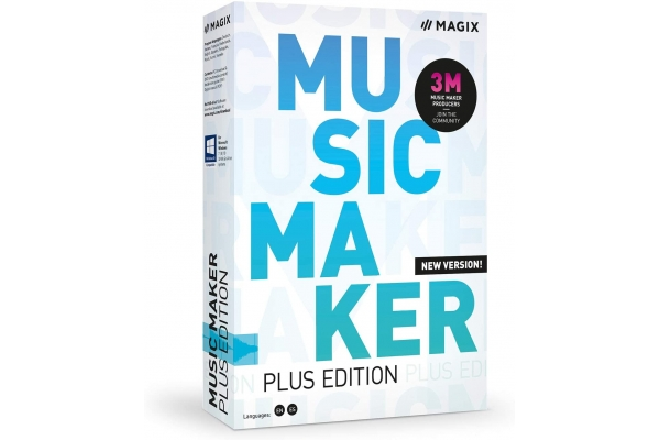 MAGIX MUSIC MAKER PLUS