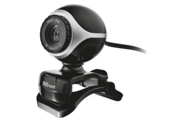 WEBCAM TRUST EXIS BLACK SILVER 17003