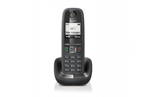 TELEFONO FIJO GIGASET AS405H INALAMBRICO NEGRO