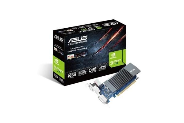 TARJETA GRAFICA GEFORCE ASUS GT710-SL-2GD5 HDMI DVI VGA