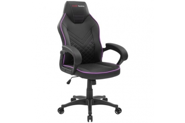 SILLA GAMER MARS GAMING MGCX ONE NEGRA FUCSIA