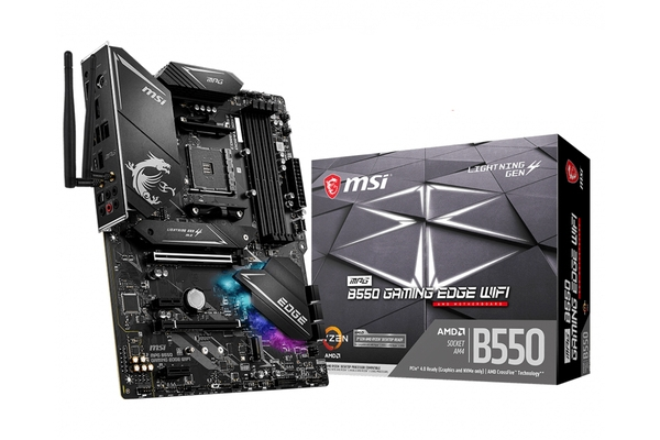 PLACA BASE MSI AMD AM4 B550 GAMING EDGE WIFI