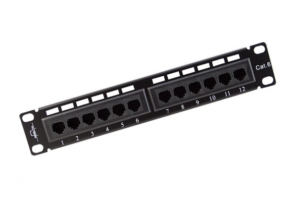 PATCH PANEL MONOLYTH 24 PTOS UTP CAT6 (cx)