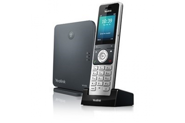 TELEFONO YEALINK IP W60P INALAMBRICO HD DECT