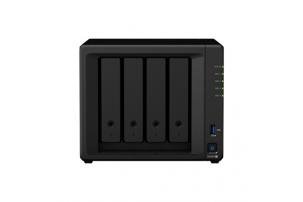 NAS SYNOLOGY DS420+ 4 BAHIAS 2GHZ 2GB RAM DDR4 SDRAM