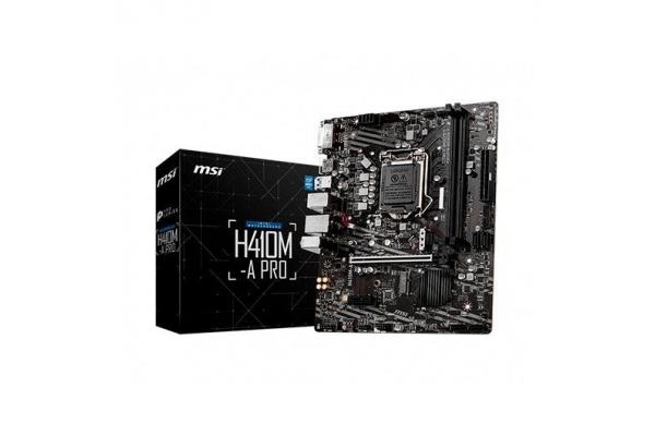 PLACA BASE MSI INTEL LGA1200 GEN 10 I3 I5 I7 H410M-A PRO MATX
