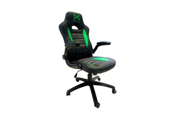 SILLA GAMING DROXIO TROUN VALUE NEGRO VERDE
