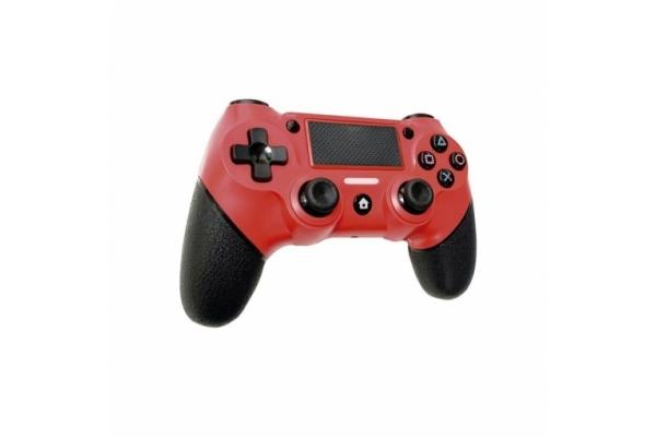 GAMEPAD NUWA PS4 DUAL SHOCK 4 ROJO COMPATIBLE