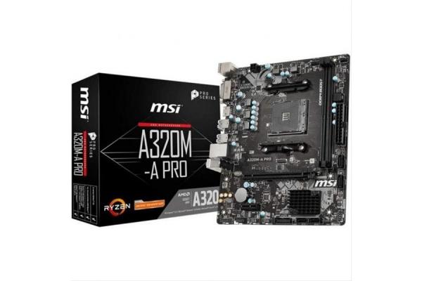 PLACA BASE MSI AMD AM4 A320M-A PRO MATX