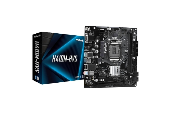 PLACA BASE ASROCK INTEL 1200 GEN 10 DDR4 H410M-HVS MATX
