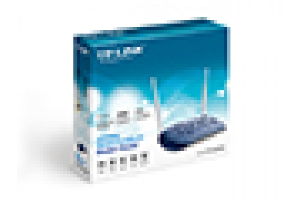 REDES TP-LINK ROUTER WIFI ADSL 300MBPS + 4P  TD-W8960N