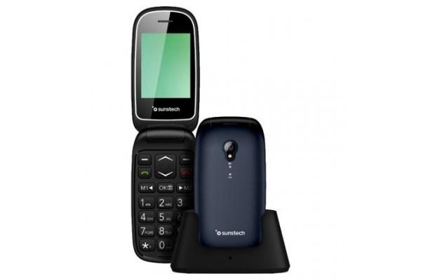 TELEFONO MOVIL SUNSTECH CELT17 PARA PERSONAS MAYORES AZUL