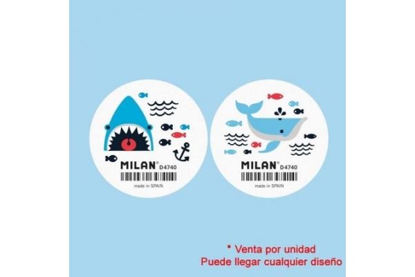 GOMA DE BORRAR MILAN D4740 SHARK ATTACK