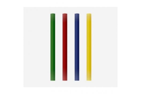 BARRAS DE COLA TERMOFUSIBLE GRAFOPLAS 00058699 7,5 x 100MM 12 UDS COLORES VARIADOS