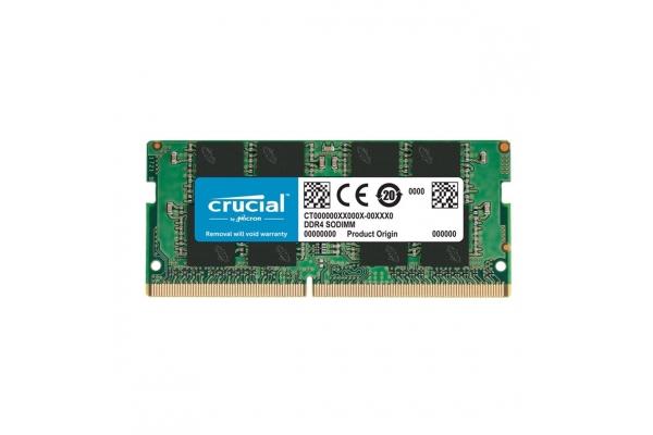 MEMORIA SODIMM 16GB DDR4 2666 CRUCIAL CT16G4SFRA266