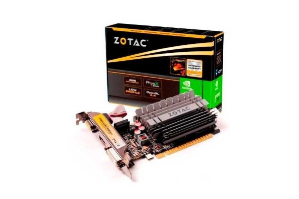 TARJETA GRAFICA GEFORCE ZOTAC GT730 4GB DDR3 LP ZT-71115-20L