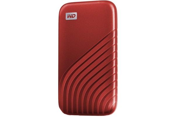 SSD EXTERNO WESTERN DIGITAL MY PASSPORT 500GB ROJO