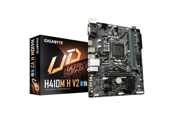 PLACA BASE GIGABYTE INTEL LGA1200 GEN 10 I3 I5 I7 H410M H V2 MATX