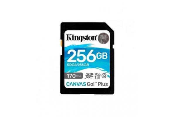 TARJETA MICRO SD 256GB KINGSTON CANVAS GO SDG3 256GB