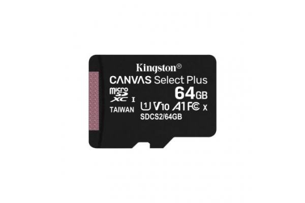 TARJETA MICRO SD 64GB KINGSTON CANVAS SELECT PLUS SDCS2 64GBSP