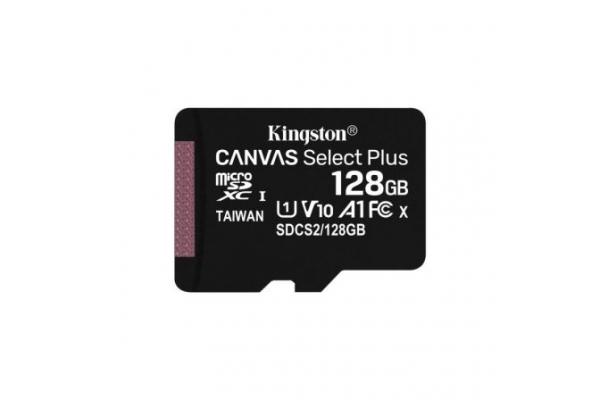 TARJETA MICRO SD 128GB KINGSTON CANVAS SELECT PLUS SDCS2 128GBSP