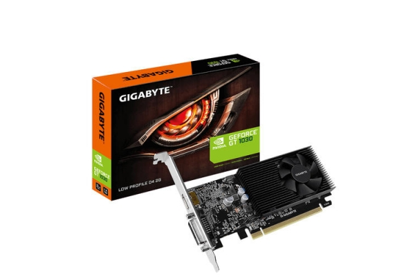 TARJETA GRAFICA GIGABYTE GT 1030 2GB DDR4 LP GV-N1030D4-2GL