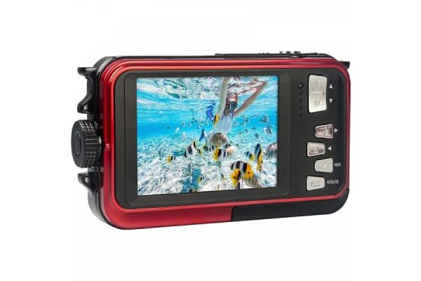 CAMARA DIGITAL DEPORTIVA AGFAPHOTO REALISHOT WP8000 24MP ROJA