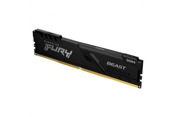 MEMORIA 8GB KINGSTON DDR4 2666MHZ FURY BEAST