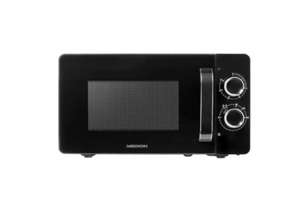 MICROONDAS MEDION MICROWAVE OVEN MD 18687 700W 20L NEGRO
