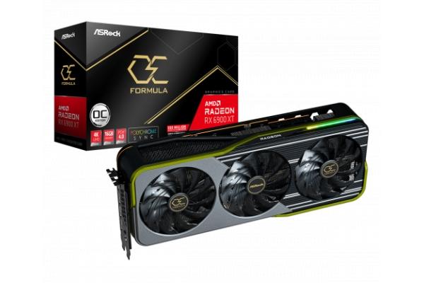 TARJETA GRAFICA ASROCK RADEON RX 6900 XT OC FORMULA AMD 16GB GDDR6