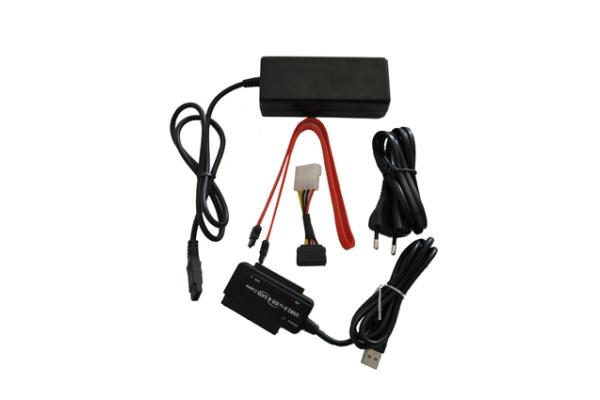ADAPTADOR EXTERNO HD 2.0 IDE Y SATA LL-AD-USB IDE SATA