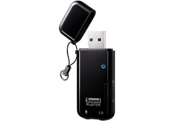 TARJETA SONIDO USB CREATIVE SB X-FI GO! PRO USB
