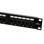 PATCH PANEL MONOLYTH 24 PTOS UPT CAT5E 242240-C5E