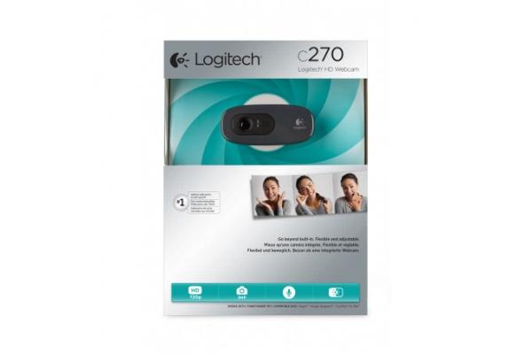 WEBCAM LOGITECH C270 RETAIL