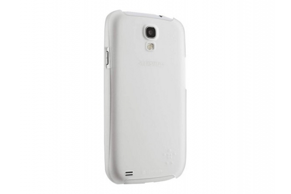 FUNDA BELKIN SHIELD SHEER MATTE WHITE COMP SAMSUNG GALAXY S4
