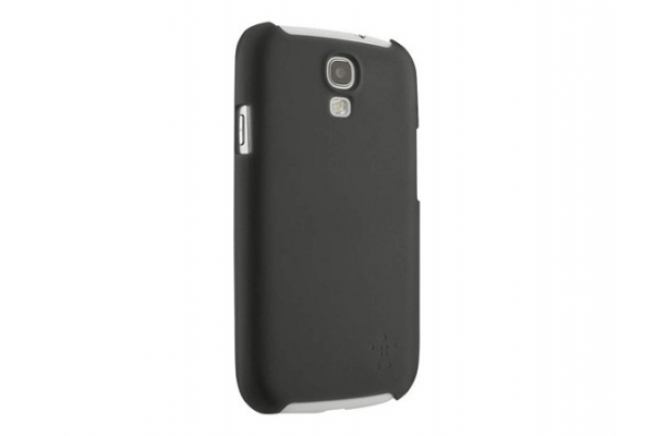 FUNDA BELKIN SHIELD SHEER MATTE BLACK  COMP SAMSUNG GALAXY S4