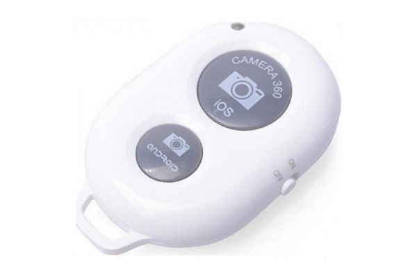 DISPARADOR BLUETOOTH DE FOTOS LL-AM-111-BLANCO