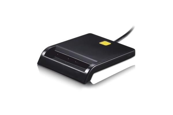 LECTOR EXTERNO INTELIGENTE DNI TOOQ TQR-210B USB 2.0 NEGRO