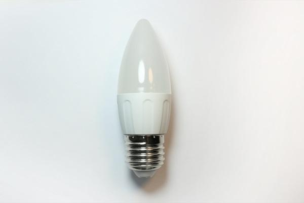 BOMBILLA LED A5 C35 E27 3W 6400K