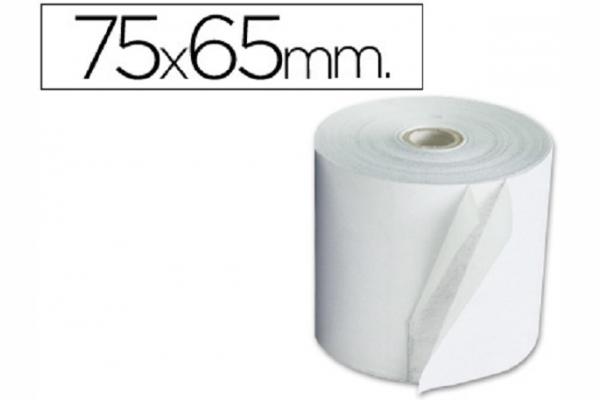 ROLLO PAPEL ELECTRO 75MM A X 65 MM D (10 UN)