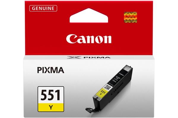 TINTA ORIGINAL CANON CLI-551XL YELLOW