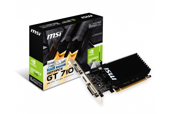 TARJETA GRAFICA GEFORCE MSI GT710 2GB 2GD3H LP