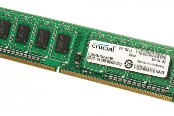 MEMORIA 8GB DDR3 1600 CRUCIAL CT102464BD160B