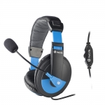 AURICULAR CON MC NGS HEADSET MSX9 PRO BLUE