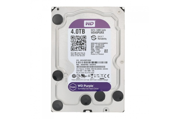 HD 3,5 4TB WESTERN DIGITAL PURPLE WD40PURZ