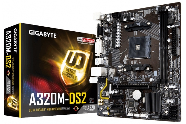 PB GIGABYTE AM4 GA-A320M DS2
