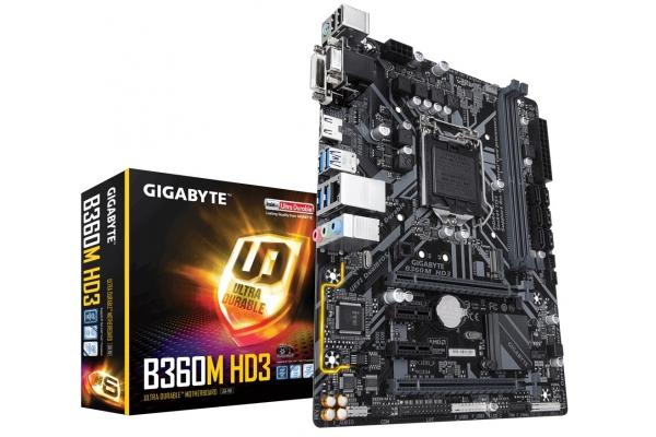 PLACA BASE GIGABYTE INTEL 1151 GEN 8�/9� I3/I5/I7 B360M HD3