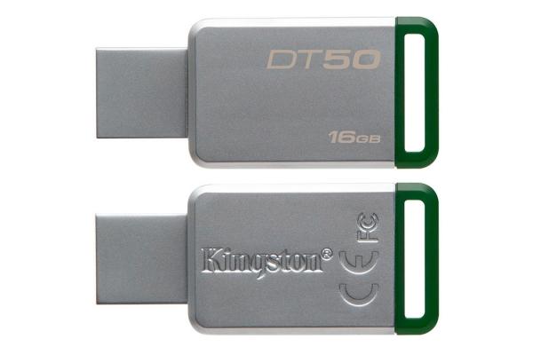 PEN DRIVE 16GB KINGSTON DT50/16GB USB 3.1