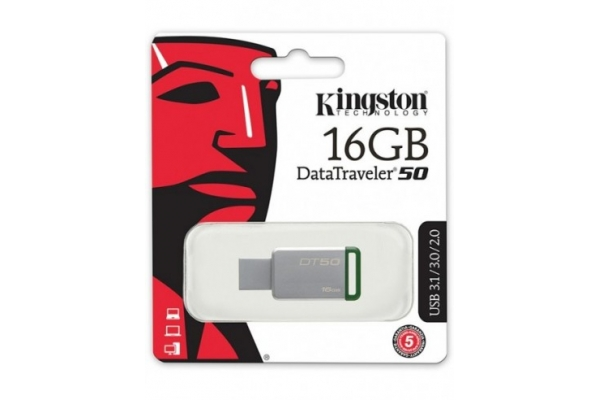 PEN DRIVE 16GB KINGSTON DT50/16GB USB 3.1